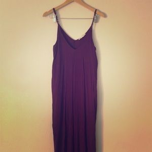 Plum Maxi With Pockets